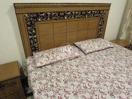 Stylish Bed Set (Double Bed)