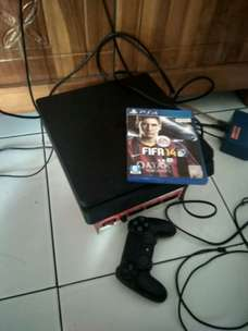 ps4 slim 500gb cuh 2000 + fifa 2014