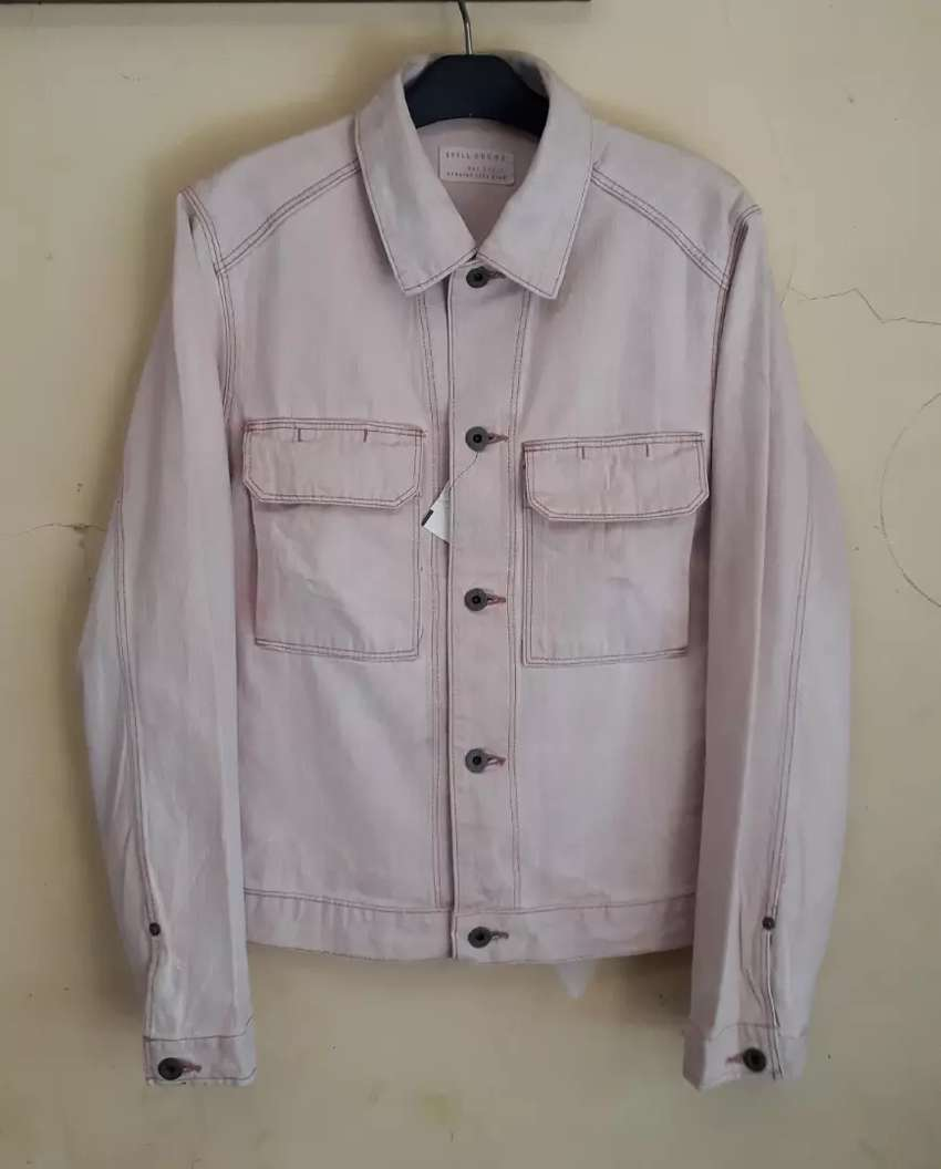 Spell Bound Canvas Vintage Casual Jacket Fashion Pria 784444403