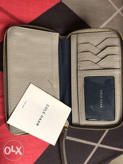cf14710225 Rush Sale: Auth Cole Haan zip around wallet fits cellphone in ...