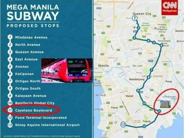 Mega Manila Subway Map.Best Seller Preselling Prime Condo In Taguig Near Vista Mall