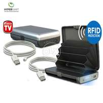 E-Charge Universal Charger Wallet with RFID Technology