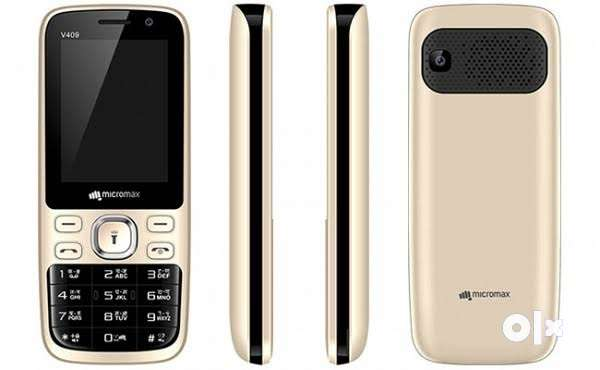 best service d2a02 bf07d Micromax v409 known as Bharat 1, 4g keypad mobile - Mobile Phones ...