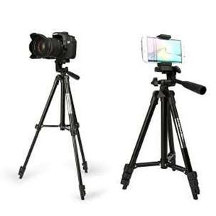 Tripod Kamera Handphone ActionCam Black Edition + Holder HP