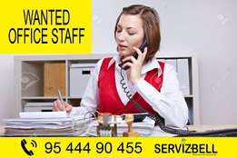 Wanted Office Staff