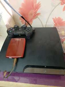 Jual PS3 Slim 120Gb CECH25** Plus Ext hdd 320Gb