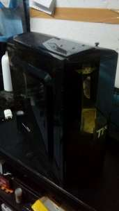 casing pc transparan psu d bawah dan psu pure ada pin6