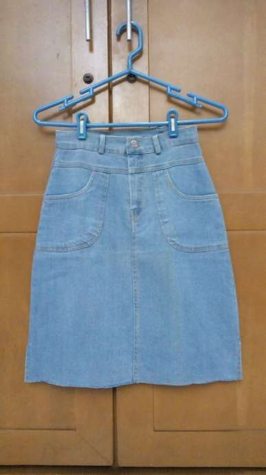 Rok Jeans Strech SOLID Jeans Size S.
