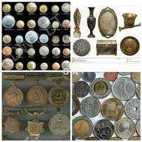 Antique items. Coins+Medals+Antique items