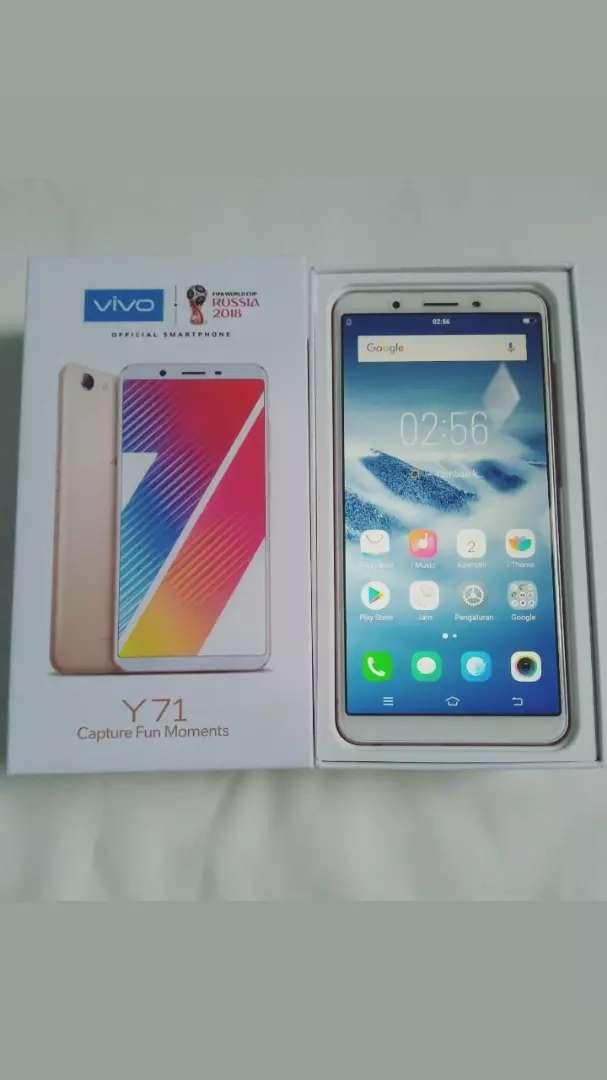 Vivo Y71 ram 2/16 gb - Handphone - 765612123