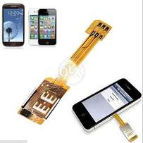 Dual SIM Card Adapter For IPhone And Samsung