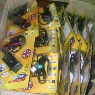 Charger Motor USB Anzena Black Ios Dan Androin Waterproof Gojek Grab