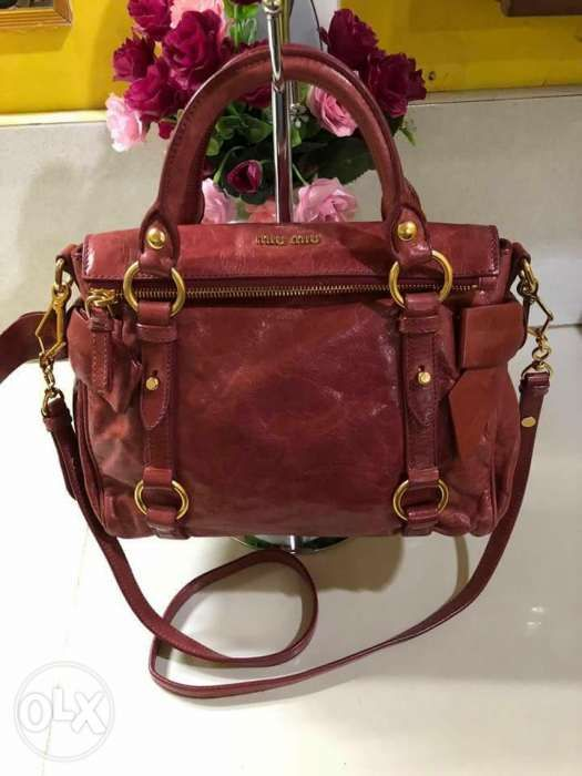 e710a8f36ad3 Miu Miu Authentic Bow Small 2 Way Bag in Pasig