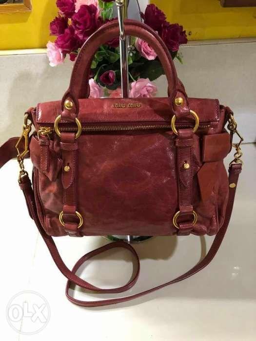 Miu Miu Authentic Bow Small 2 Way Bag in Pasig 9cdf2d4fafe3a