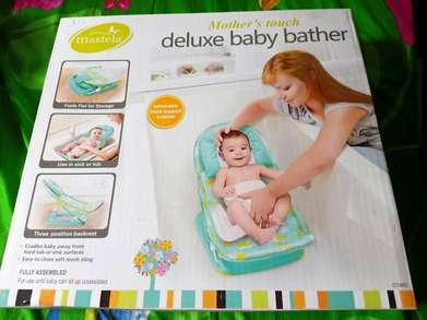 dekuxe baby bather mastela