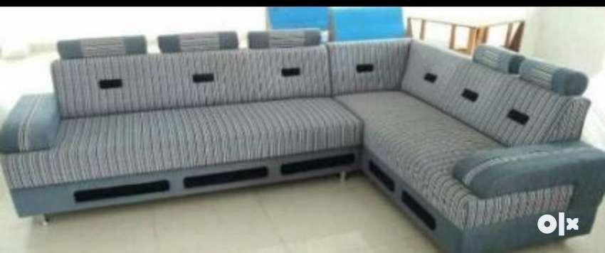 Prime New Sky Blue Fabric Sectional Sofa Sofa Dining 1208769625 Dailytribune Chair Design For Home Dailytribuneorg