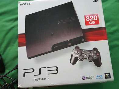 ps 3 slim  area padang warna silver