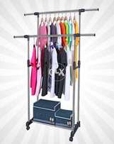 Cloth Hanger Stand Double Pole