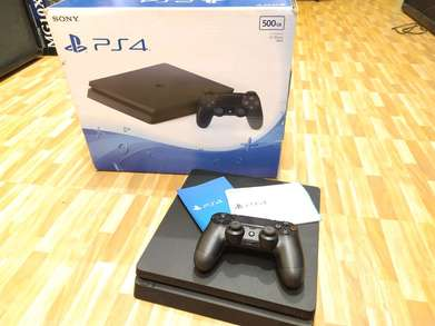 ps4 slim fullset tinggal pakaj