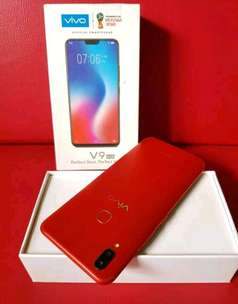 Vivo V9 like new 4/64 spek dewa, normal segel lancar mulus laccu