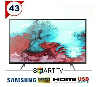 "led full hd smart tv samsung 43"" internet connectshare 5 series lcd tv"