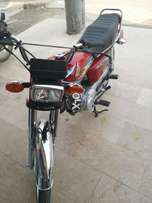 Honda bike available