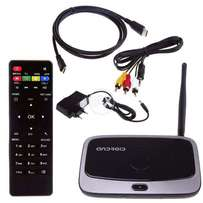 Q7S Android Smart TV Media Box Quad Core with Web Cam 2G+8G