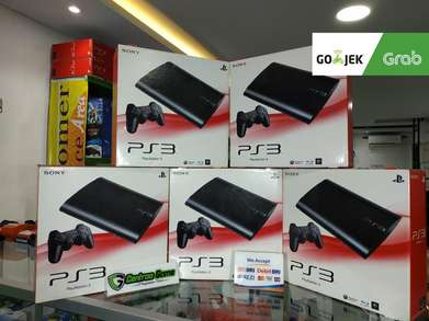 Ready PS3 Superslim OFW hdd 500GB Fullgame Siap Main Fullset 2 Stick