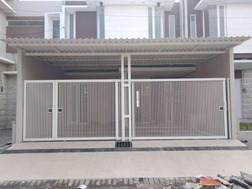 Pagar Minimalis Jarak Rapat 3cm - Konstruksi Dan Taman - 783786994