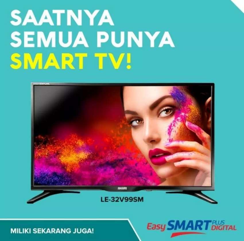 Discounts Harga Led Smart Digital Tv Akari 32 Le 32v99sm 32 Inch Tv Audio Video 788090163