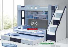 Bunk Bed ready stock same color khawaja's sale offer Fix price