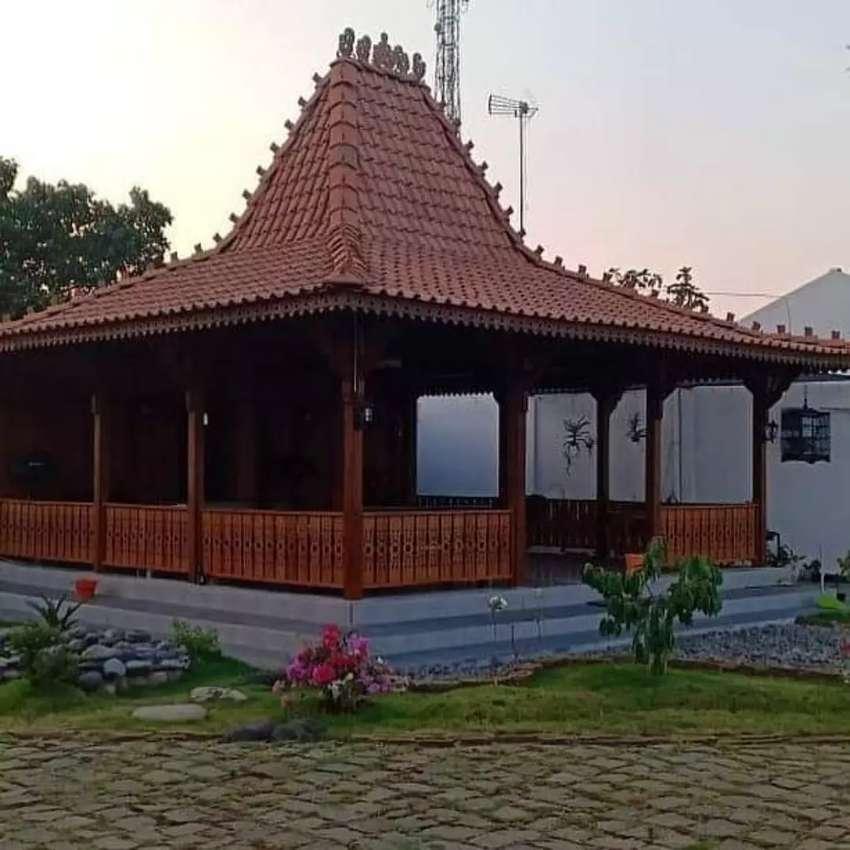 Jasa Bangun Rumah Limasan Jati Khas Jawa di Jambi Terpercaya