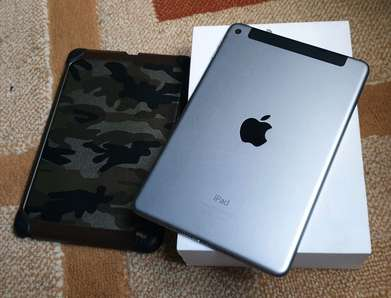 Ipad Mini 4 32GB Cellular Fullset