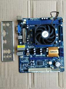 paket mobo amd DDR3+proc+ fan hetsink