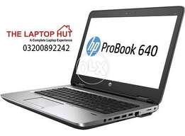 Hp ProBook 640 . i5 . 4th Gen ( Just 25499 ) || Professional Series
