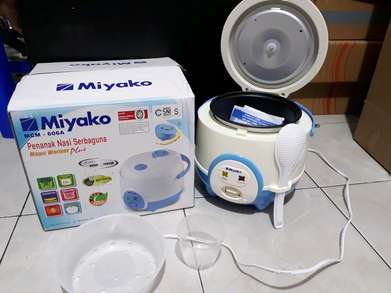 Freeongkir magicom/ magic com miyako 606 A kapasitas 0,63liter