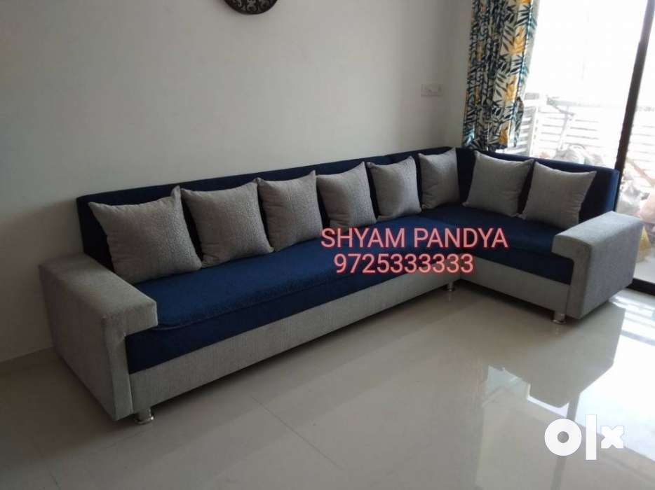 Blue And White Sectional Couch - Bharuch - Furniture - Bharuch INA Chaise Lounge Sofa Olx on conventional sofa, low-back sofa, small blue sofa, fainting sofa, daybed sofa, bed sofa, modular lounge sofa, sectional sofa, sleep lounge sofa, benches high back sofa, sleeper sofa, floor lounger sofa, modern chaise sofa, curved sofa, ikea dark grey sofa, ottoman sofa, double chaise sofa, bedroom sofa, newton chaise sofa, furniture sofa,