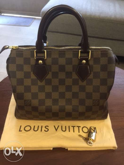 351c871c79b9 Louis Vuitton LV Speedy 25 damier ebene in Taguig