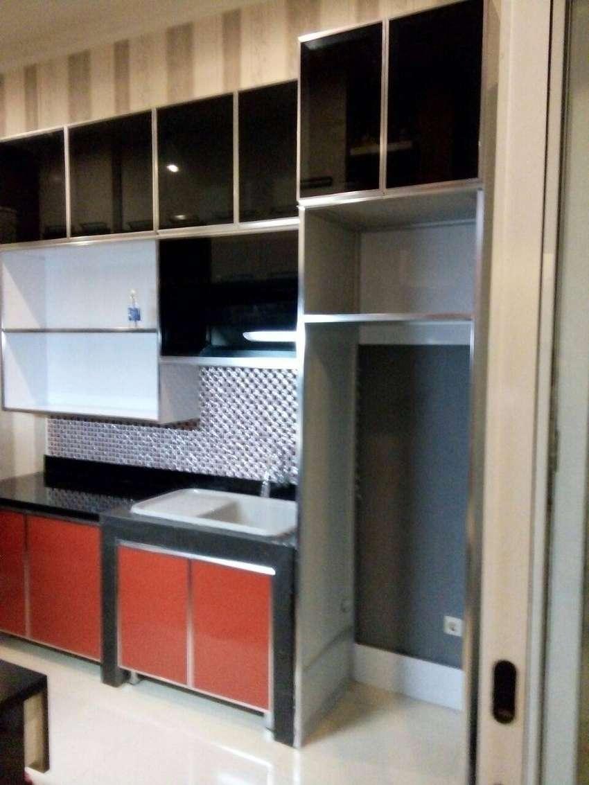 Lemari Dapur Aluminium Atau Kitchen Set Aluminium Murah Jakarta