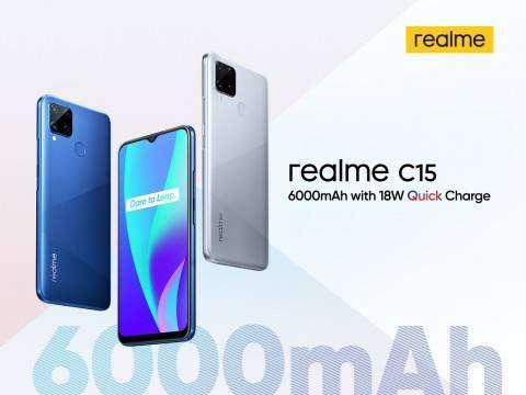 Hp Realme C15 Ram 3 Garansi Resmi Realme Termurah Sesurabaya Handphone 795082053