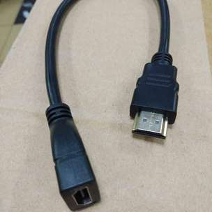 Kabel HDMI Extention Male to Female 30Cm