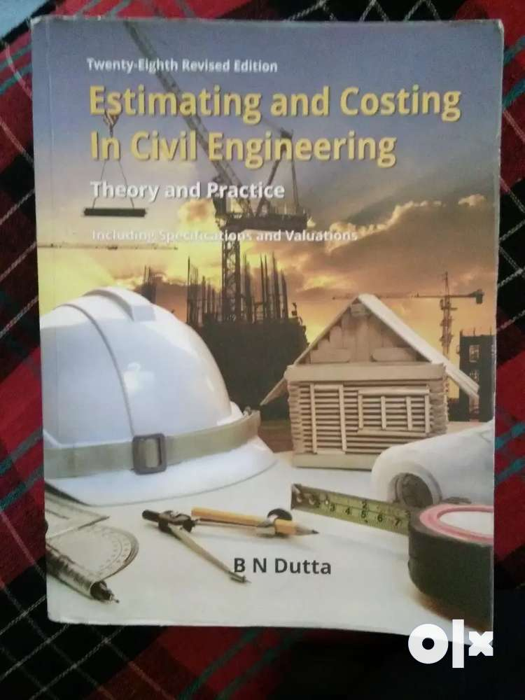 Estimation And Costing Book