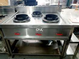 Chinese cooking range , pizza oven fast food setup delivery bags