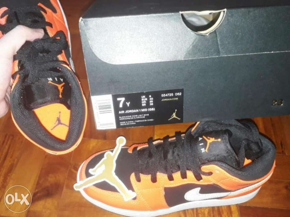 Nike Air Jordan 1 Mid size 7 Mens 85 womens Authentic Talk in Manila ... 3b8d5e035