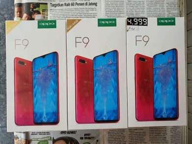 """Biss """"Soko Mas Cell"""" Ready New Oppo F9 Pro 6/64 GB Red"""