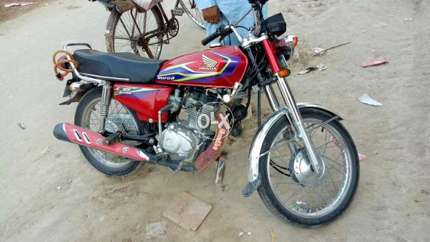 Honda 125 2017 Mudel For Sell Red Motorcycles 861366810 Olx