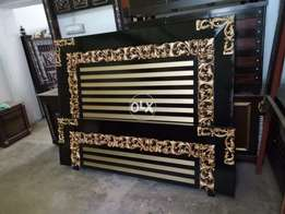 New double bed good looking design 00079