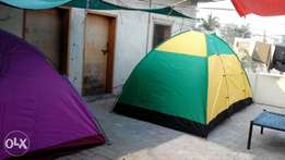 2 to 10 persons light weight camping Tents available in different colo