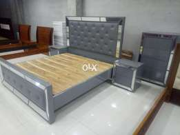 Embassssy used Dbl Bed set