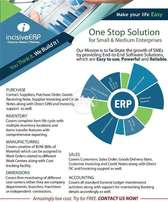 One Stop ERP Business Software Solution for Small & Medium Enterprises